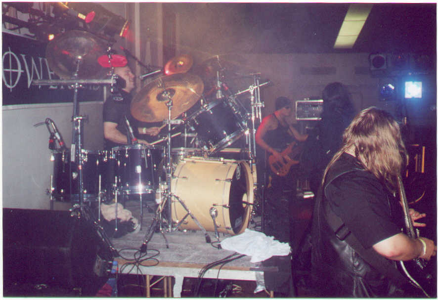 Me with October Thorns at Powermad 2000